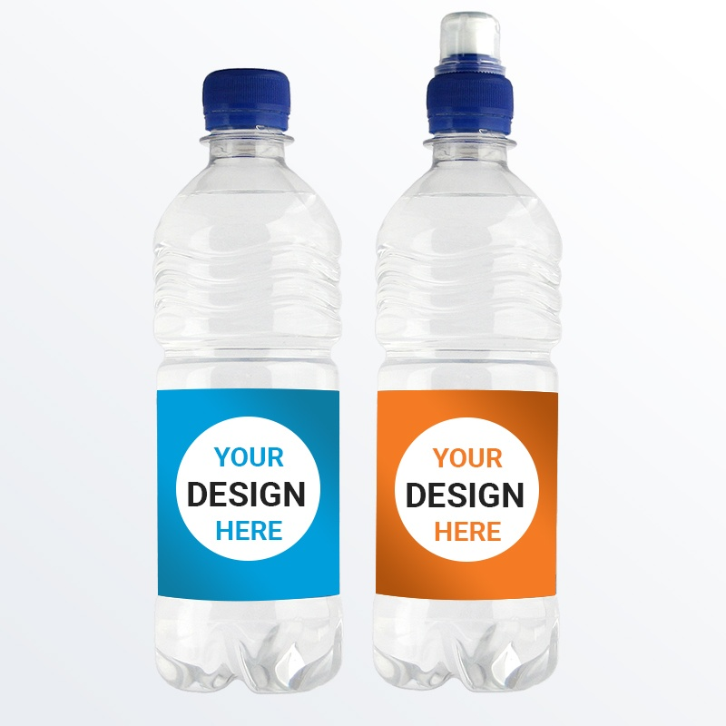 500ml Promotional Branded Water - rPET