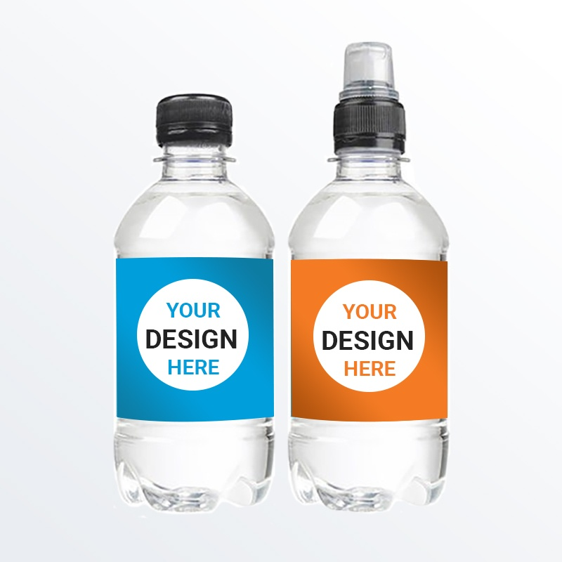 330ml Promotional Branded Water - rPET